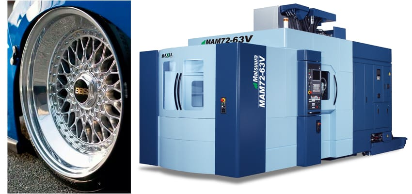 Image for BBS Motorsport Wheels - Matsuura 5 Axis