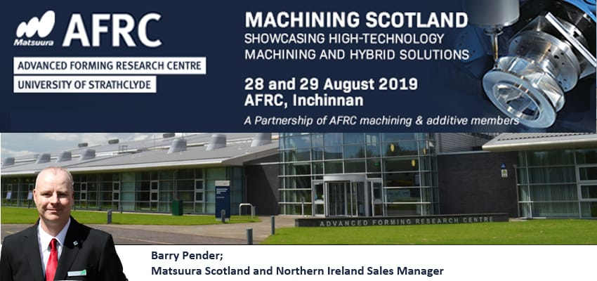 Image for New Event; Machining Scotland at the AFRC, August 28th & 29th