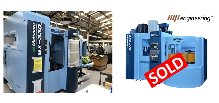 Image for MP Engineering Invest in their 8th Matsuura machine