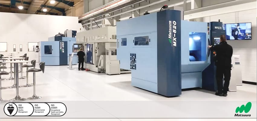 Image for Are you ready to visit Matsuura UK? Open for Business.